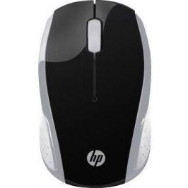 Мышь беспроводная HP 200 Pk чёрный серебристый USB + Bluetooth 2HU84AA