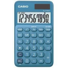 Калькулятор карманный CASIO SL-310UC-BU-S-EC 10-разрядный синий