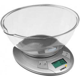 Весы кухонные Unit UBS-2155 серый