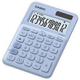 Калькулятор настольный CASIO MS-20UC-LB-S-EC 12-разрядный голубой