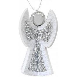 Елочные украшения Winter Wings Ангел N181985S серый 10.5 см 1 шт