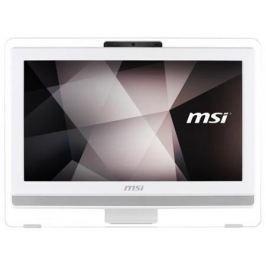 "Моноблок 19.5"" MSI Pro 20ET 4BW-072RU 1600 x 900 Multi Touch Intel Celeron-N3160 4Gb 1 Tb Intel HD Graphics 400 DOS белый 9S6-AA8B12-072"