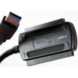"""Кабель-адаптер VCom CU814 USB3.0 - SATA/IDE 2.5""""/3.5"""" внешний БП"""