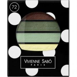 VS Тени для век квартет / Eyeshadow Quartet / Ombre a Paupieres Quartette Quatre Nuances тон/shade 72