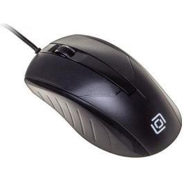 Мышь проводная Oklick 315M чёрный USB