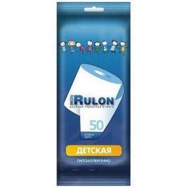 Влажная туалетная бумага Mon Rulon Детская не содержит спирта влажная гипоаллергенные 50 шт