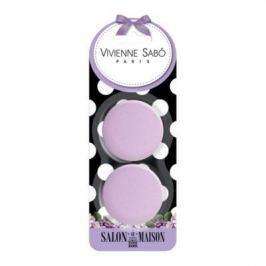 VS Набор круглых латексных спонжей для макияжа (2 шт.)/Round latex makeup sponges set/ Kit de eponges de maquillage rondes en latex