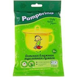 Бумага туалетная Pamperino Детская влажная 30 шт