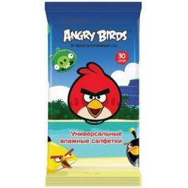 Салфетки влажные Angry Birds Techpoint гипоаллергенные 30 шт
