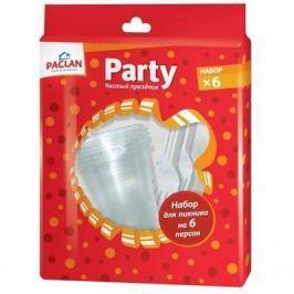 PACLAN Party Набор для пикника на 6 персон тарелки 170мм 6шт стаканы 200мл 6шт вилки 6шт