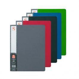 Папка с 40 файлами, форзац, ф.А4, ассорти SDB40/ASS