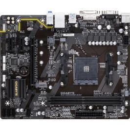 Материнская плата GigaByte GA-AB350M-D3V Socket AM4 AMD B350 2xDDR4 1xPCI-E 16x 2xPCI-E 1x 4 mATX Retail