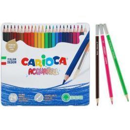 Набор карандашей CARIOCA Acquarell 24 шт акварельные 42860