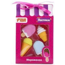 """Ластики """"Мороженое"""", 4 шт."""