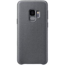 Чехол (клип-кейс) Samsung для Samsung Galaxy S9 Hyperknit Cover серый (EF-GG960FJEGRU)