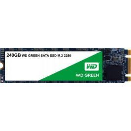 Твердотельный накопитель SSD M.2 240Gb Western Digital Green Read 540Mb/s Write 465Mb/s SATAIII WDS240G2G0B