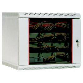 Шкаф настенный 9U ЦМО ШРН 9.300 600x300mm дверь стекло