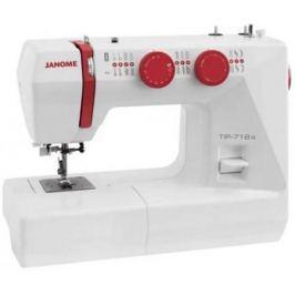 Швейная машинка Janome Tip 718s белый