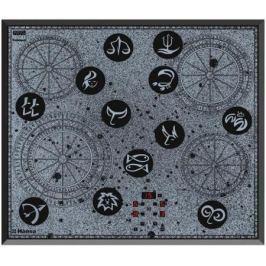 Варочная панель электрическая Hansa BHC66504 черный/рисунок