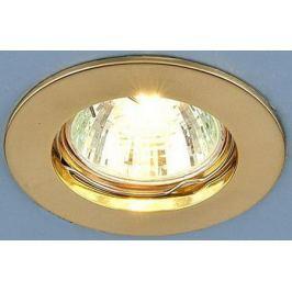 Встраиваемый светильник Elektrostandard 863 MR16 GD золото 4690389055539