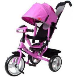Велосипед Moby Kids Comfort EVA Car 300/250 мм розовый