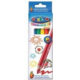 Набор карандашей цветных CARIOCA TRIANGULAR JUMBO, 6 цв