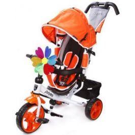 Велосипед Moby Kids Comfort EVA 250/200 мм оранжевый 641151