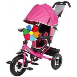 Велосипед Moby Kids Comfort 12x10 AIR 300/250 мм розовый 641055