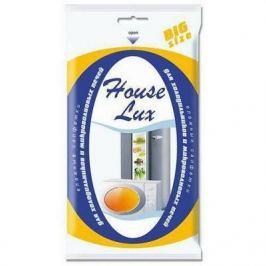 HOUSE LUX Салфетки влажные для холодильников и микроволновых печей BigSiz 30шт