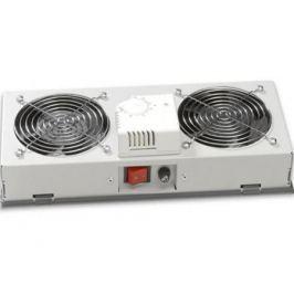 Вентиляторный модуль Estap M35HV2FTG 2 вентилятора термостат для шкафов EuroLine и EcoLine серый