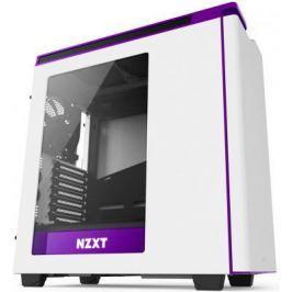 Корпус ATX NZXT H440 Без БП белый фиолетовый CA-H442W-W2