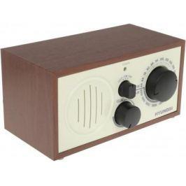 Радиоприемник Hyundai H-SRS120 вишня
