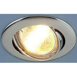 Встраиваемый светильник Elektrostandard 104S MR16 CH хром 4690389060250