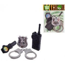 Набор Little Zu Набор Полицейского черный серый 90036C
