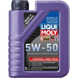 Cинтетическое моторное масло LiquiMoly Synthoil High Tech 5W50 1 л 9066