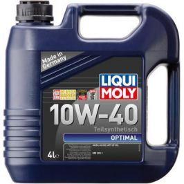 Полусинтетическое моторное масло LiquiMoly Optimal 10W40 4 л 3930