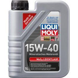Минеральное моторное масло LiquiMoly MoS2 Leichtlauf 15W40 1 л 1932
