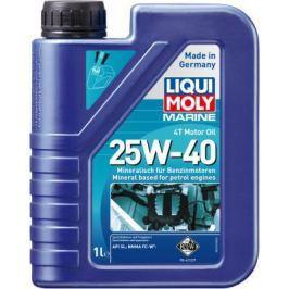 Минеральное моторное масло LiquiMoly Marine 4T Motor Oil 25W40 1 л 25026
