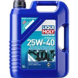 Минеральное моторное масло LiquiMoly Marine 4T Motor Oil 25W40 5 л 25027