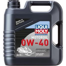 Cинтетическое моторное масло LiquiMoly Snowmobil Motoroil 0W40 4 л 2261