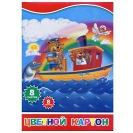 Набор цветного картона Action! 4680291048231 A4 8 листов