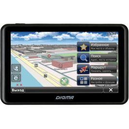 """Навигатор Digma Alldrive 505 5"""" 480x272 microSD CityGuide черный"""