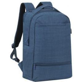 """Рюкзак для ноутбука 17.3"""" Riva 8365 полиэстер синий"""
