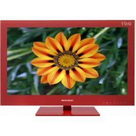 Телевизор SHIVAKI STV-24LEDGR9 красный