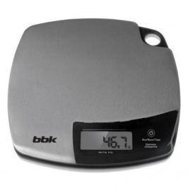 Весы кухонные BBK KS153M серебристый чёрный