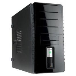 Корпус INWIN EC030BL USB3.0 (Midi Tower, ATX, без БП, USB+Audio, черный глянцевый) <6120742>
