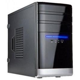 Корпус INWIN EMR038BL USB3.0 (Mini Tower, mATX, без БП, 2xUSB3.0+Audio, черно-серебристый) <6120899>