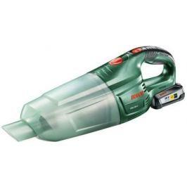 Автомобильный пылесос Bosch PAS 18 LI Set сухая уборка зелёный 06033В9002