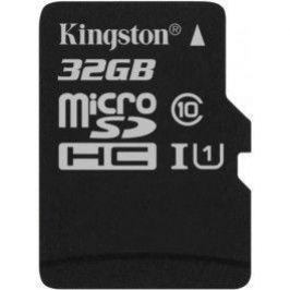 Карта памяти Micro SDHC 32GB Class 10 Kingston SDCS/32GBSP