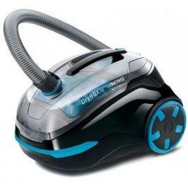 Пылесос Thomas DryBOX сухая уборка чёрный голубой 786553